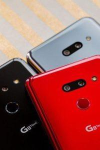 گوشی های هوشمند ال جی